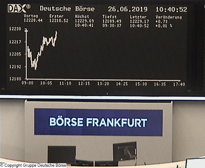 The Frankfurt Stock Exchange (Frankfurter Börse)